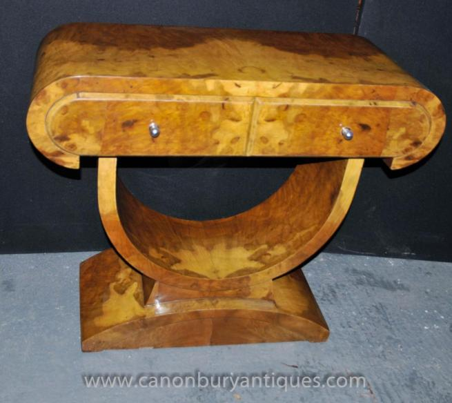 Art Deco Vintage Console Table 1920s Furniture Interiors
