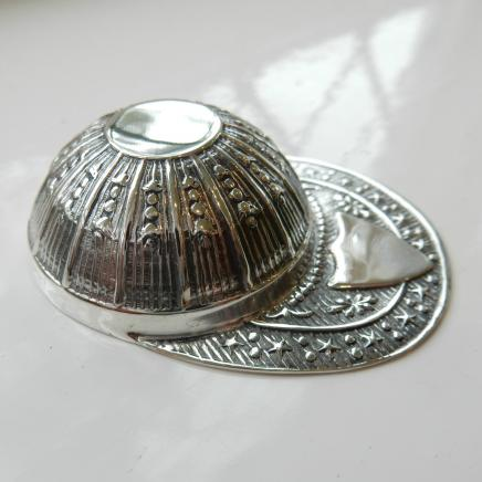 Sterling Silver Jockey Cap Tea Server