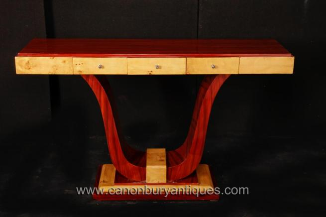 Vintage Art Deco Console Table 1920s Interiors Furniture Tables