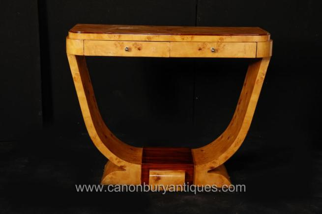 Art Deco Console Table Oggee Shape 1920s Interiors