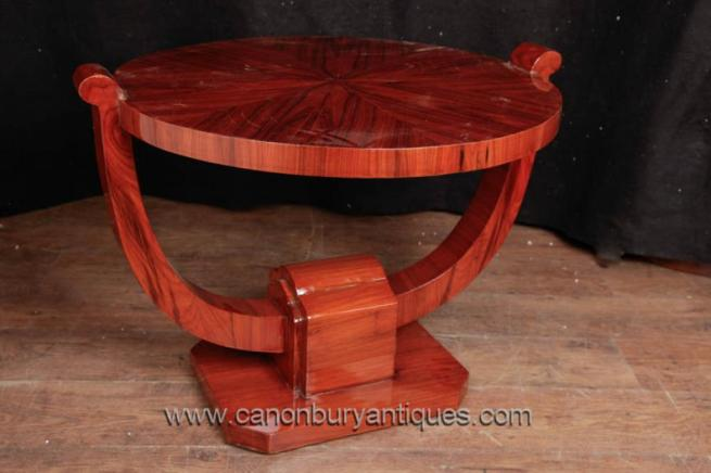 Art Deco Side Table Rosewood Vintage 1920s Furniture