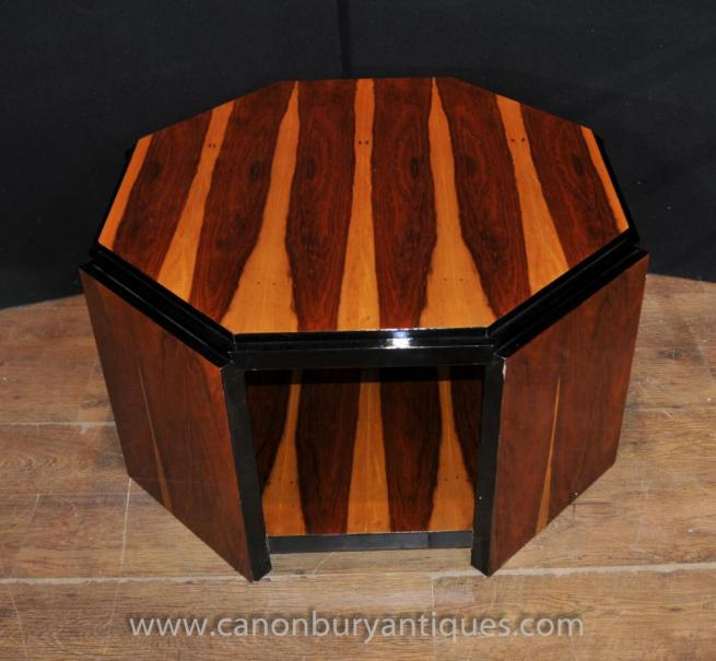 Art Deco Coffee Table Octagonal Tables 1920s Interiors
