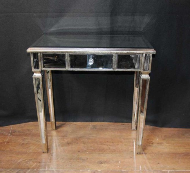 Art Deco Mirrored Console Table Hall Tables