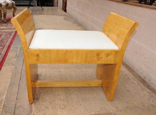 Art Deco Stool 1920s Modernist Seat Furniture