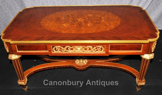 French Empire Coffee Table Kingwood Ormolu Tables Furniture