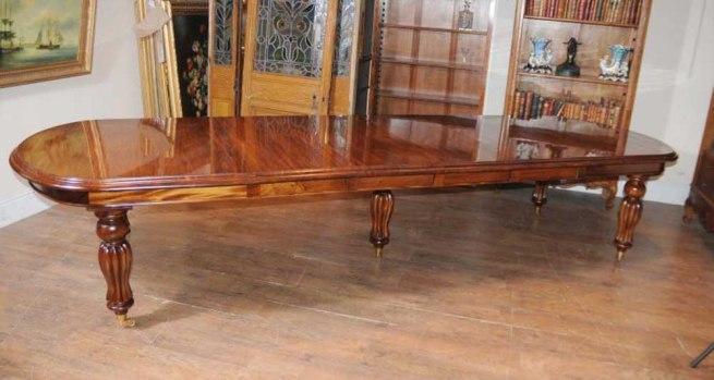 Mahogany Victorian Extending Dining Table English Furniture