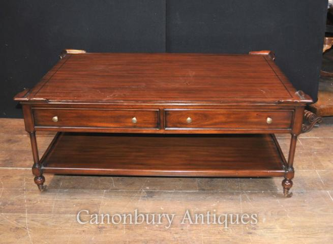 Regency Coffeee Table in Mahogany English Furniture Tables