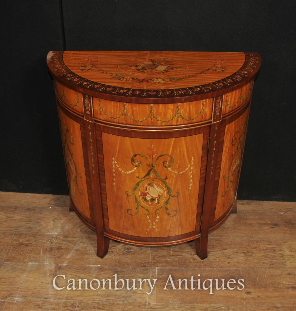 Demi Lune Cabinet | Canonburyantiques's Blog