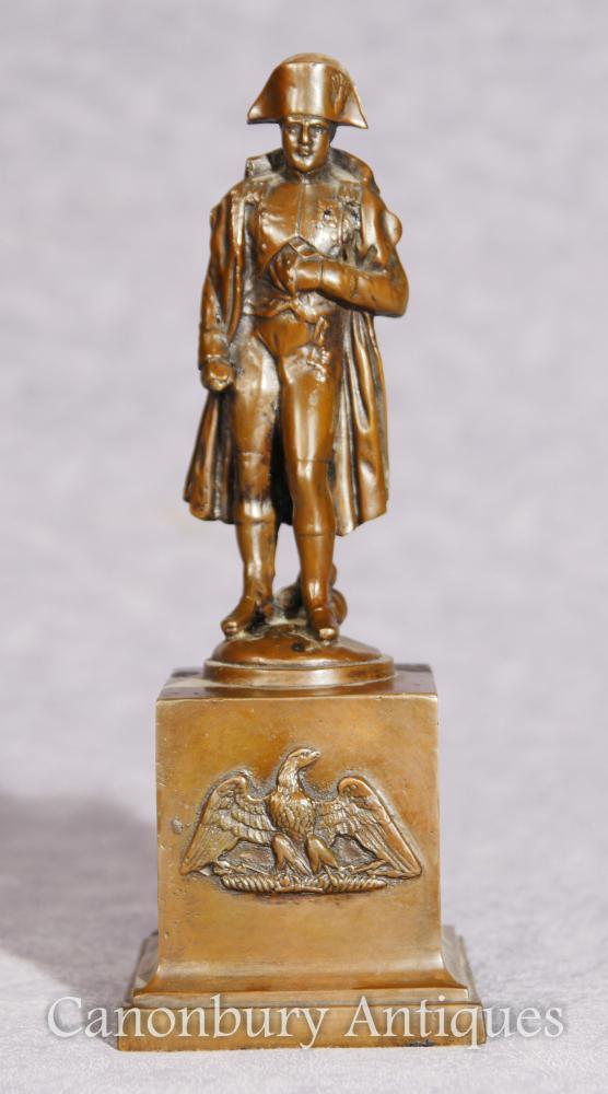 Antique Bronze Statue Emperor Napoleon Bonaparte Grand Tour 1900