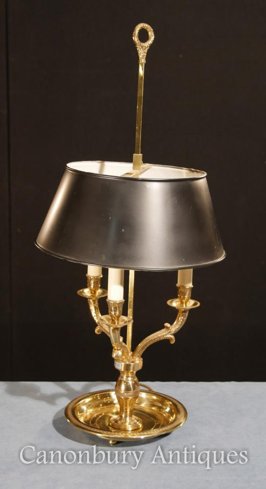 Regency Ormolu Table Lamp Candelabras Light