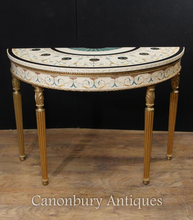 demi lune tables canonburyantiques 39 s blog. Black Bedroom Furniture Sets. Home Design Ideas