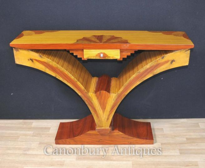 Art Deco Modernist Console Table 1920s Furniture Tables