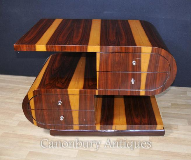 Art Deco S Shape Coffee Table 1920s Interior