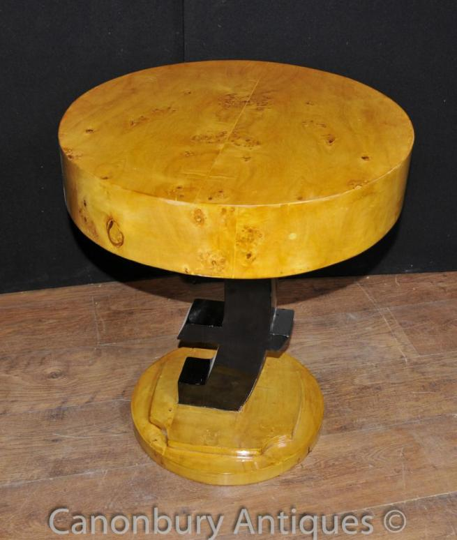 Single Art Deco Euro Side Table Furniture
