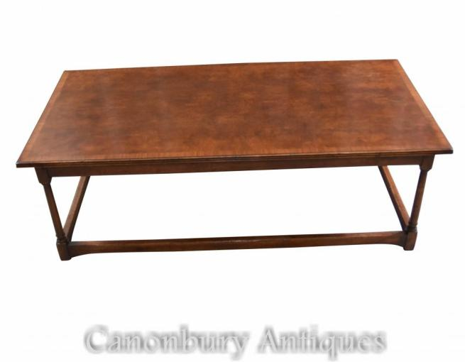 Oak Farmhouse Coffee Table