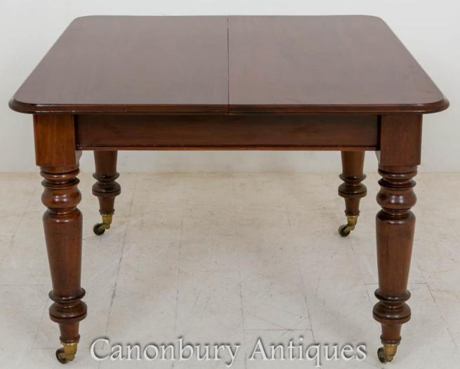 Victorian Extending Dining Table in Mahogany 1860