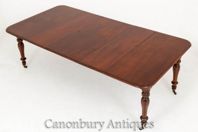 William IV Extending Dining Table Mahogany Diners