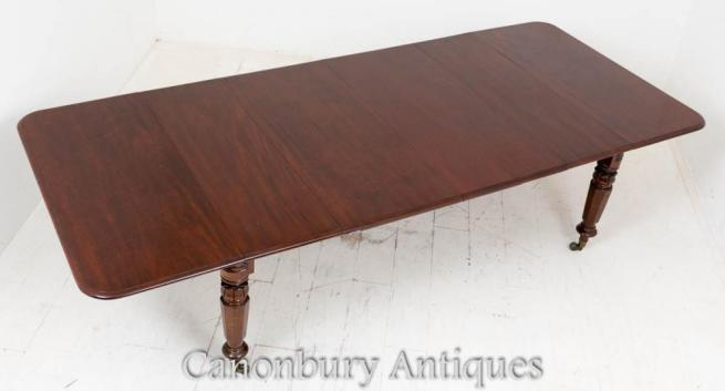 William IV Mahogany Dining Table Extending