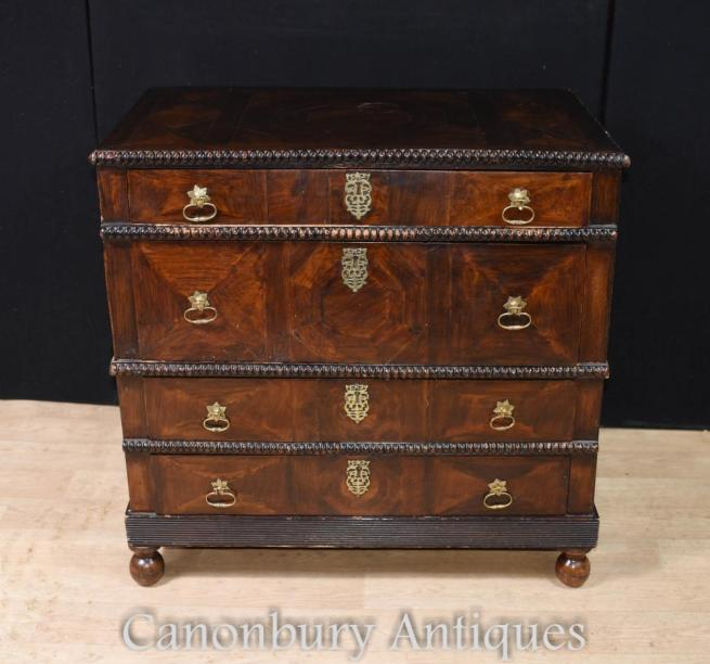 Antique Portugese Coromandel Chest of Drawers Circa 1690