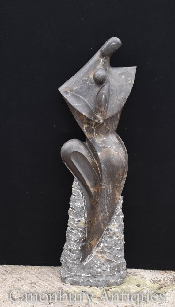 Large Abstract Art Mother and Child Statue Garden Art