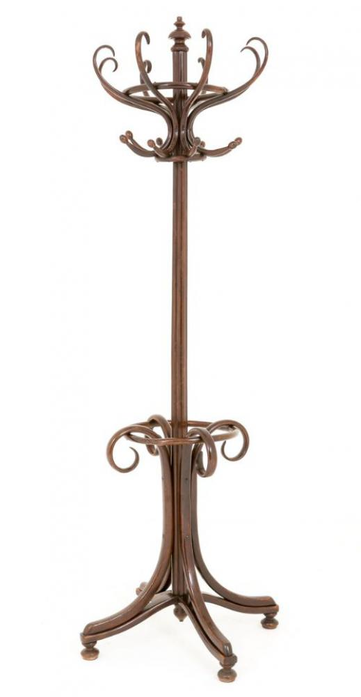 Art Deco Bentwood Hatstand Umbrella Hat Coat Holder