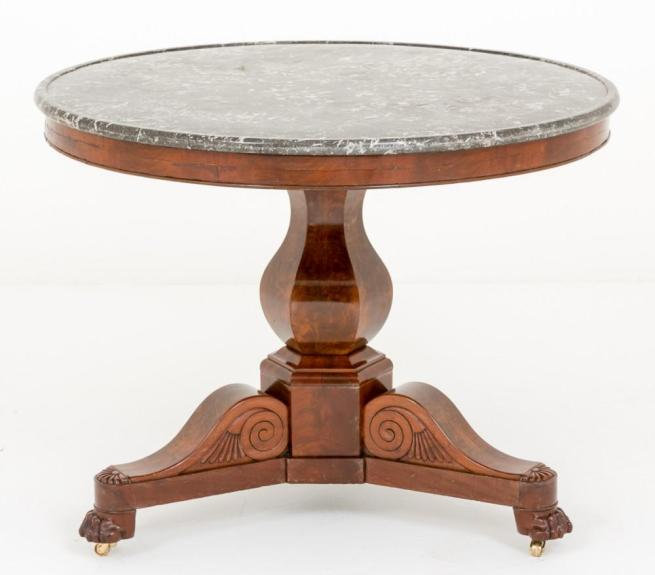 French Centre Table Gueridon Top Louis Phillippe