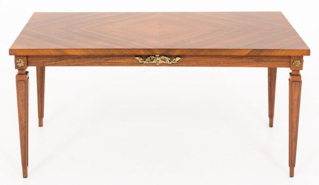 French Empire Coffee Table in Walnut