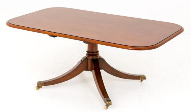 Mahogany Regency Coffee Table