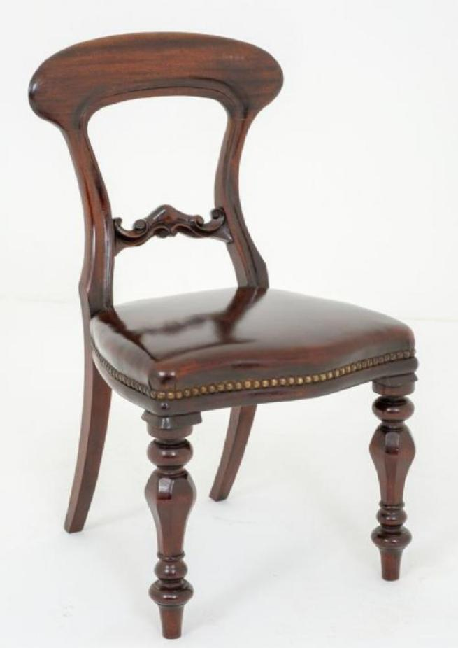 Victorian Mahogany Childs Chair - Childrens Furniture