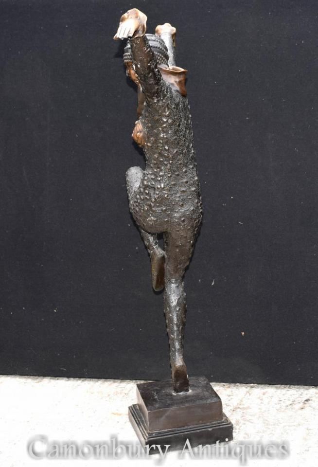 Large Art Deco Chiparus Bronze Statue Dancing Figurine Kapurthala