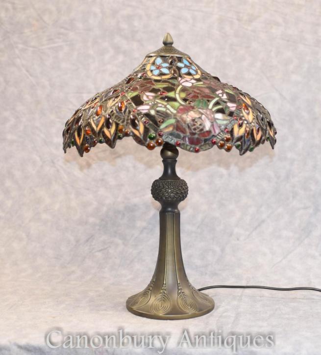 Tiffany Table - Art Nouveau Table Light Shade