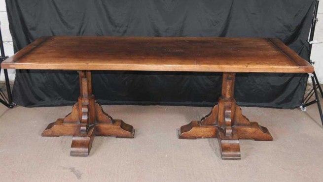 Oak Refectory Table Penhurst Farmhouse Kitchen Furniture