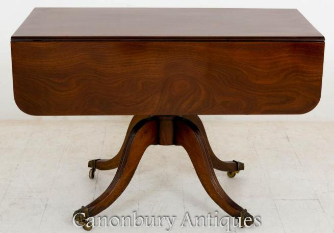 Regency Pembroke Side Table Mahogany 1800