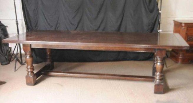 XL Oak Farmhouse Refectory Table Kitchen FarmhouseXL Oak Farmhouse Refectory Table Kitchen Farmhouse
