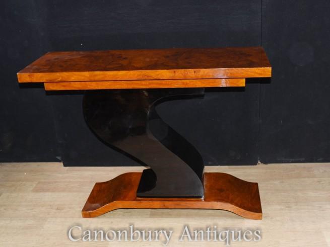 Art Deco Console Table - Z Tables
