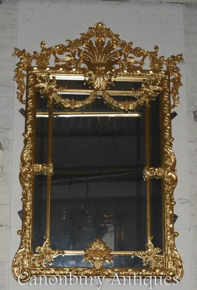 Big George II Gilt Pier Mirror