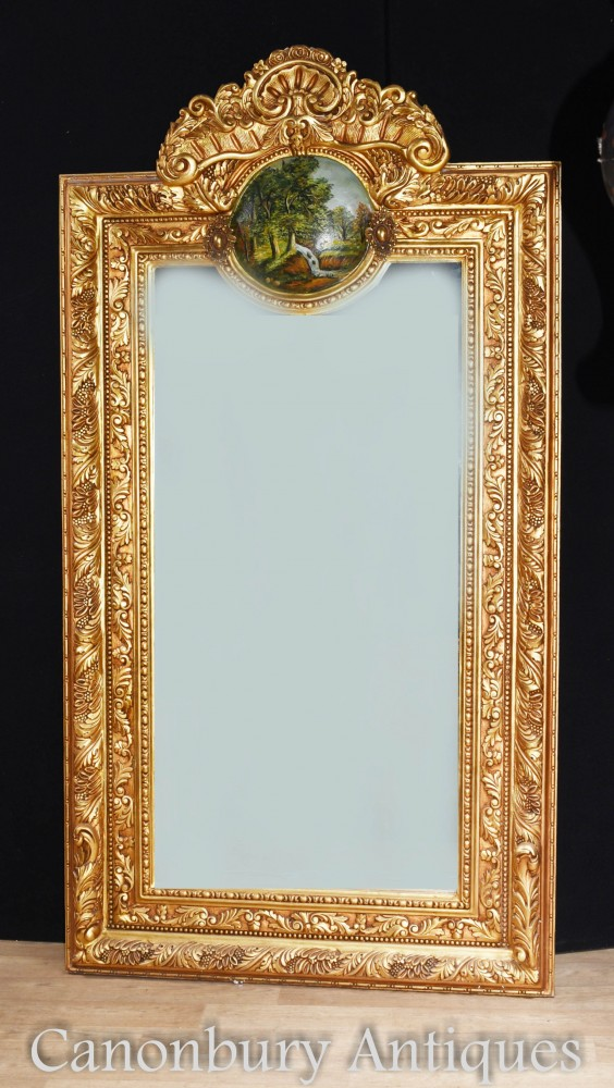 George II Gilt Pier Mirror 7 Foot Tall