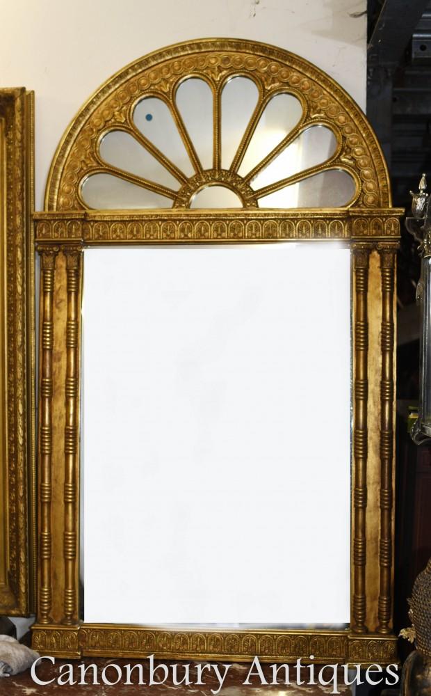 Regency Gilt Pier Mirror Neo Classical
